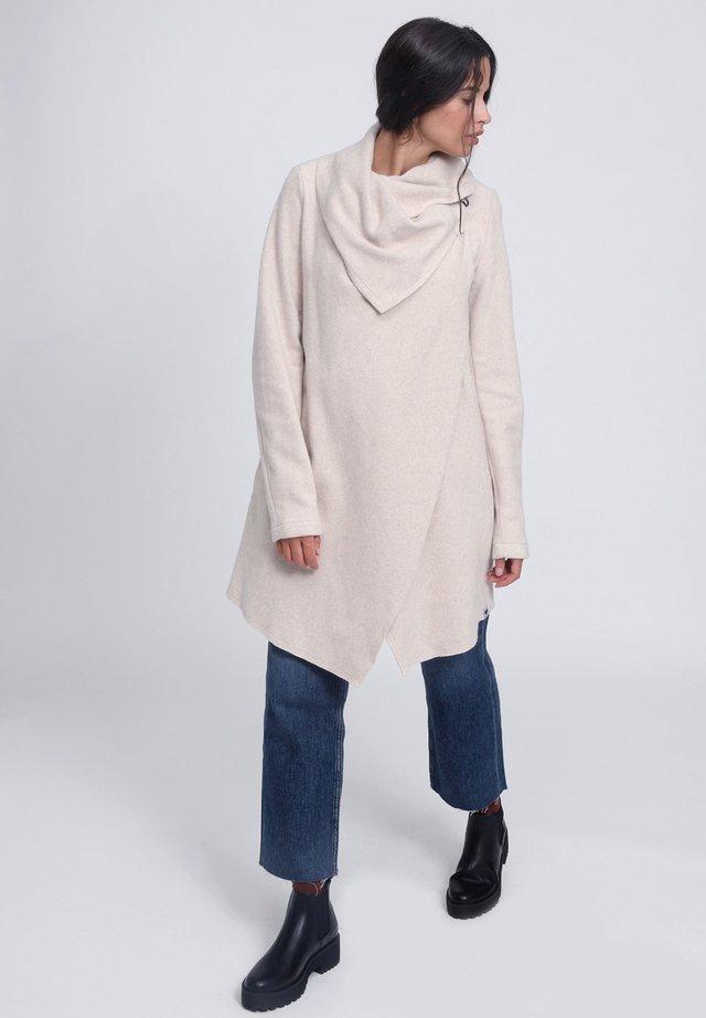 LAMBORG - Short coat - ecru