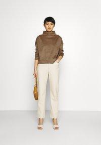Opus - GELOUR - Sweatshirt - maple - 1