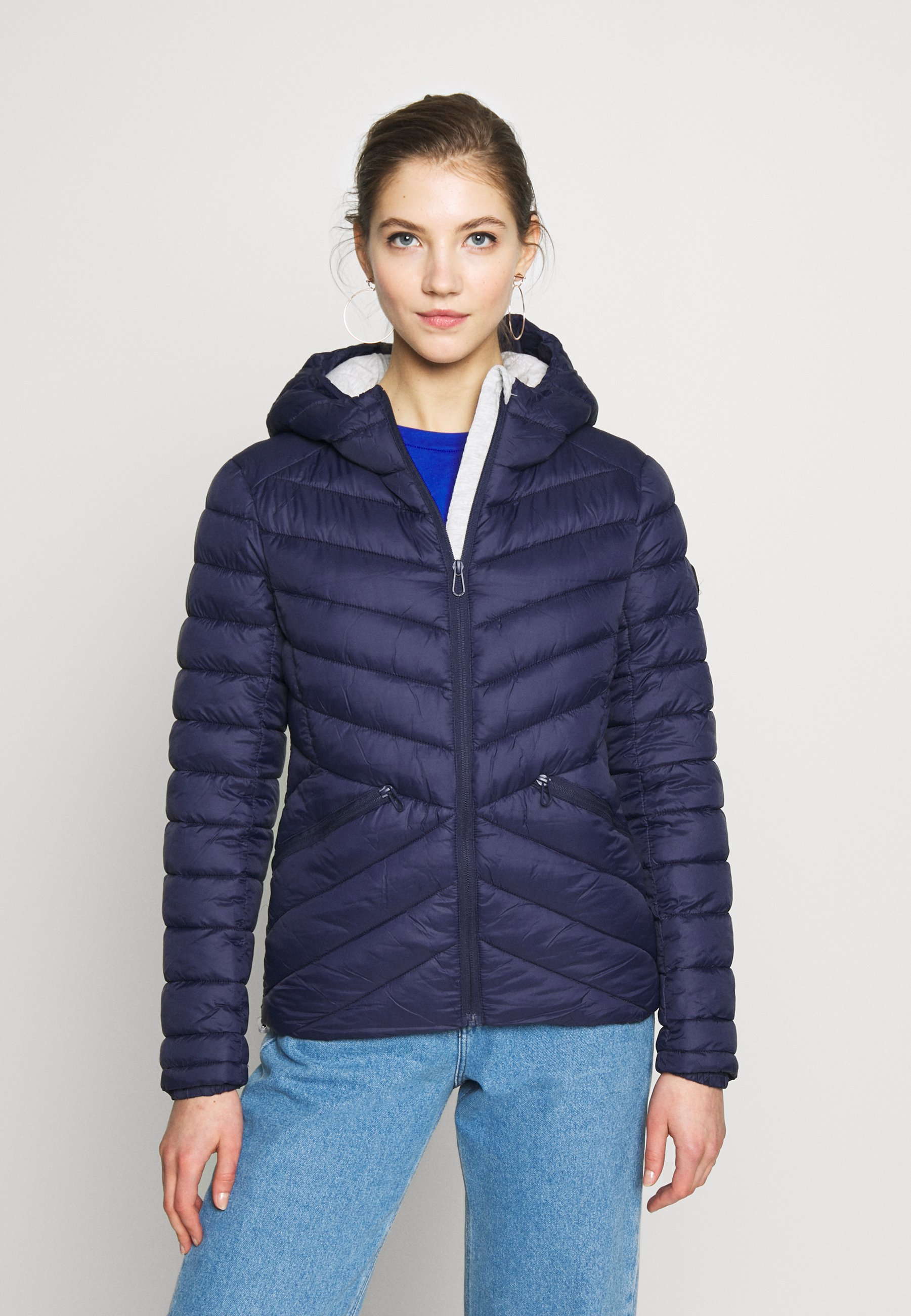 Superdry LS Essentials Padded Gilet Chaleco para Mujer