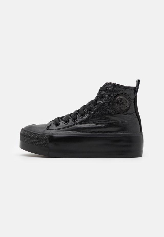 ASTICO S-ASTICO MC WEDGE SNEAKERS - Zapatillas altas - black