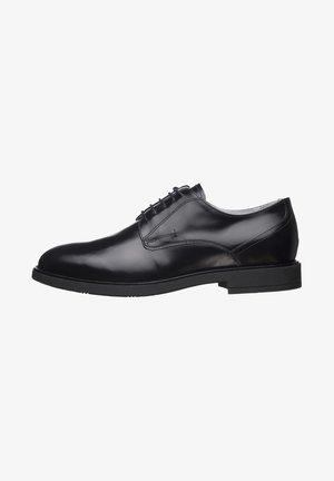 Elegantní šněrovací boty - nero