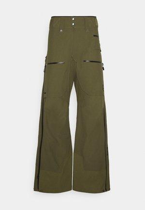 LOFOTEN GORE TEX PRO PANTS - Zimní kalhoty - khaki