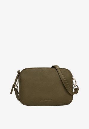 LUKA - Across body bag - umber green