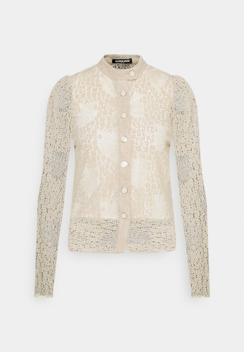 Fashion Union - THIRST - Button-down blouse - cream