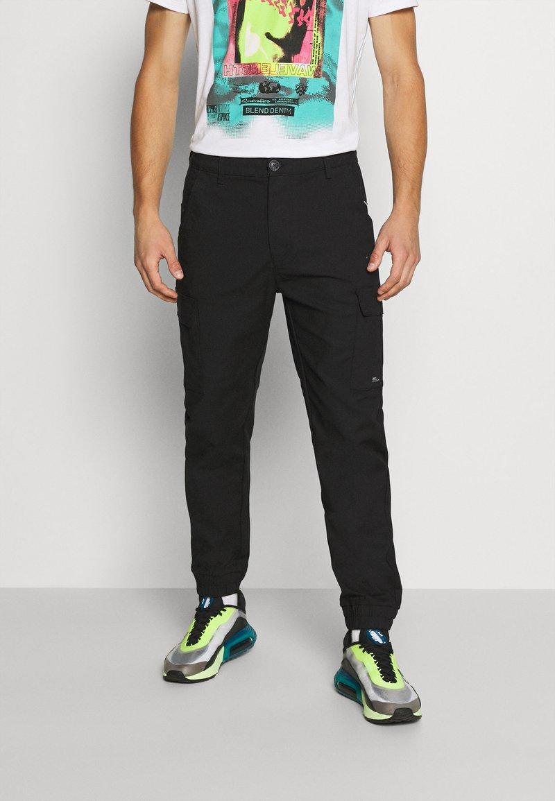 Blend - Pantaloni cargo - black