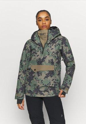HOMAGE ANORAK - Snowboard jacket - khaki