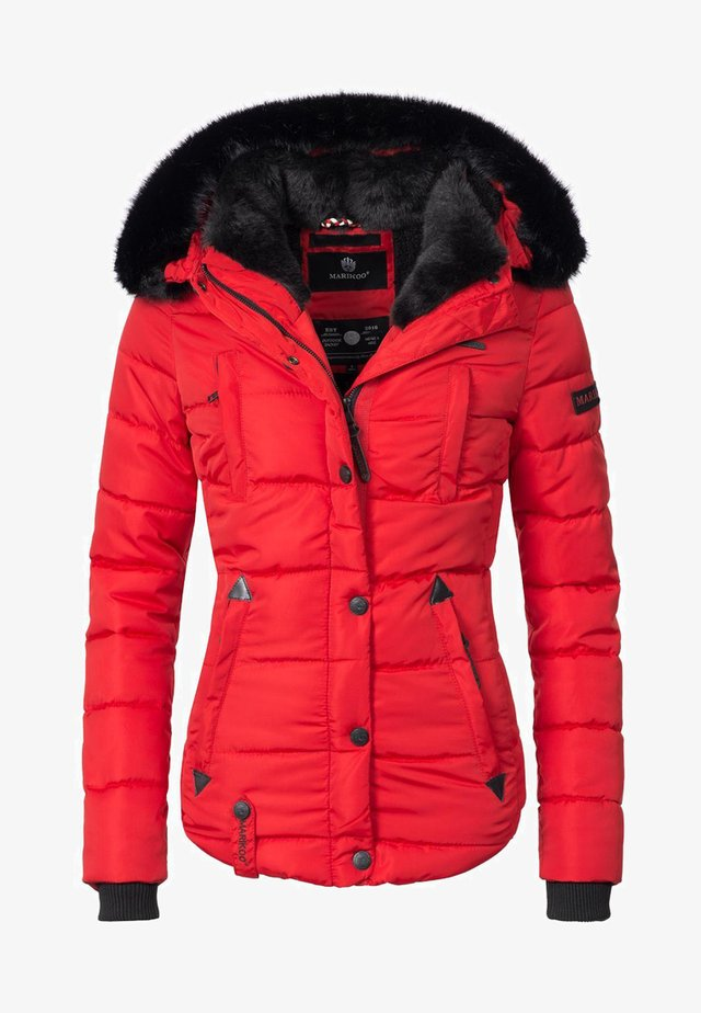 Winterjacke - red