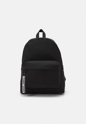 LOGO TAPE BACKPACK - Rucksack - black