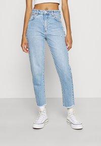 Abrand Jeans - HIGH SLIM - Jeans slim fit - olivia eco - 0