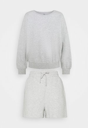 ONLKAPPI PETIT SET - Sweatshirt - light grey melange