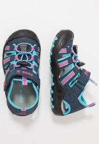 Kamik - CRAB - Walking sandals - navy teal/marine bleu sarcelle - 1