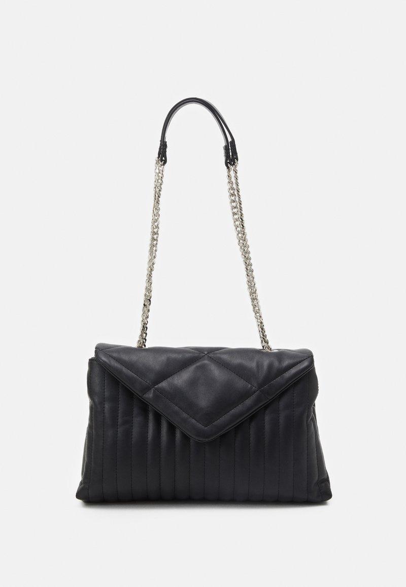 PARFOIS - CROSSBODY BAG CHARM - Across body bag - black