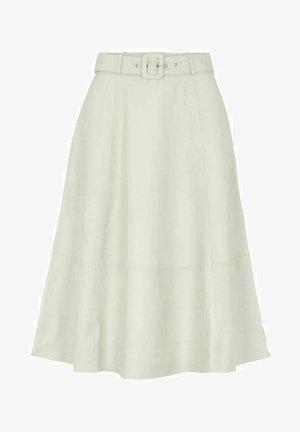 A-line skirt - gardenia