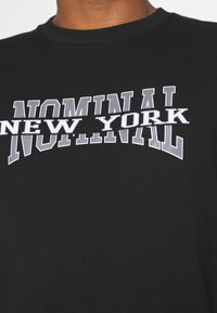 Nominal - NEW YORK TEE - Print T-shirt - black - 5