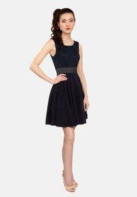 Felanitx - Cocktail dress / Party dress - dark blue - 0