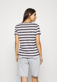 comma casual identity - Print T-shirt - black - 2