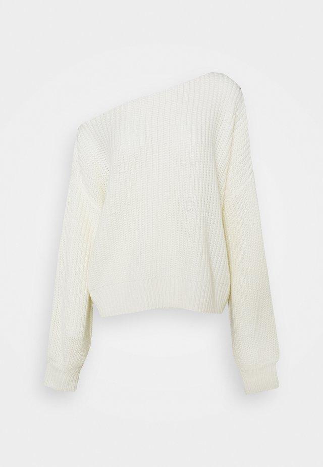 FREJA - Maglione - white