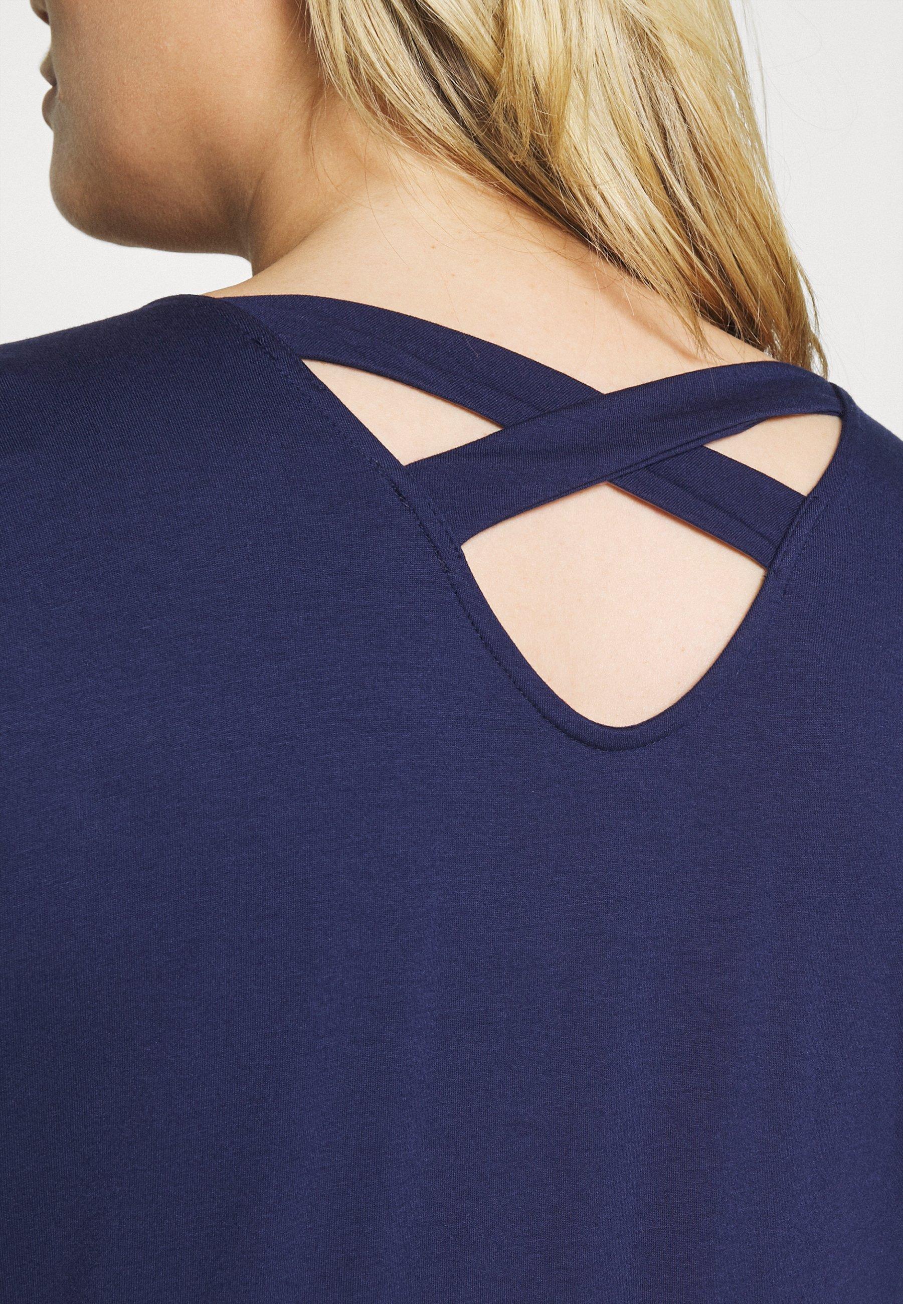 Women SPOT CROSS BACK - Print T-shirt