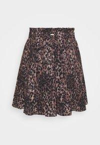 Guess - PHOENIX SKIRT - A-line skirt - brown - 1