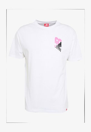 ESSENTIALS LOFI GRANNY  - Print T-shirt - white