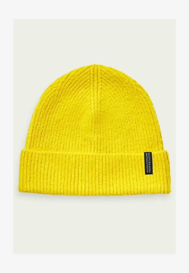 Beanie - golden yellow