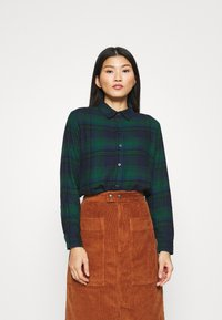 GAP - EVERYDAY - Skjorte - blackwatch plaid - 0