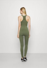 NU-IN - ZIP UP LONG BODYSUIT - Gym suit - green - 2