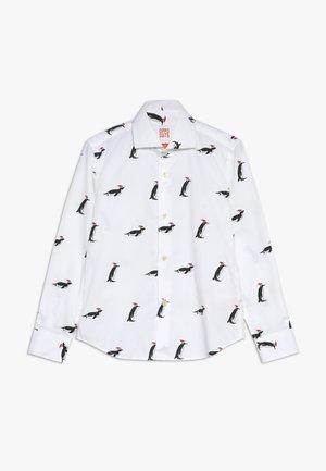 CHRISTMAS PENGUINS - Shirt - white