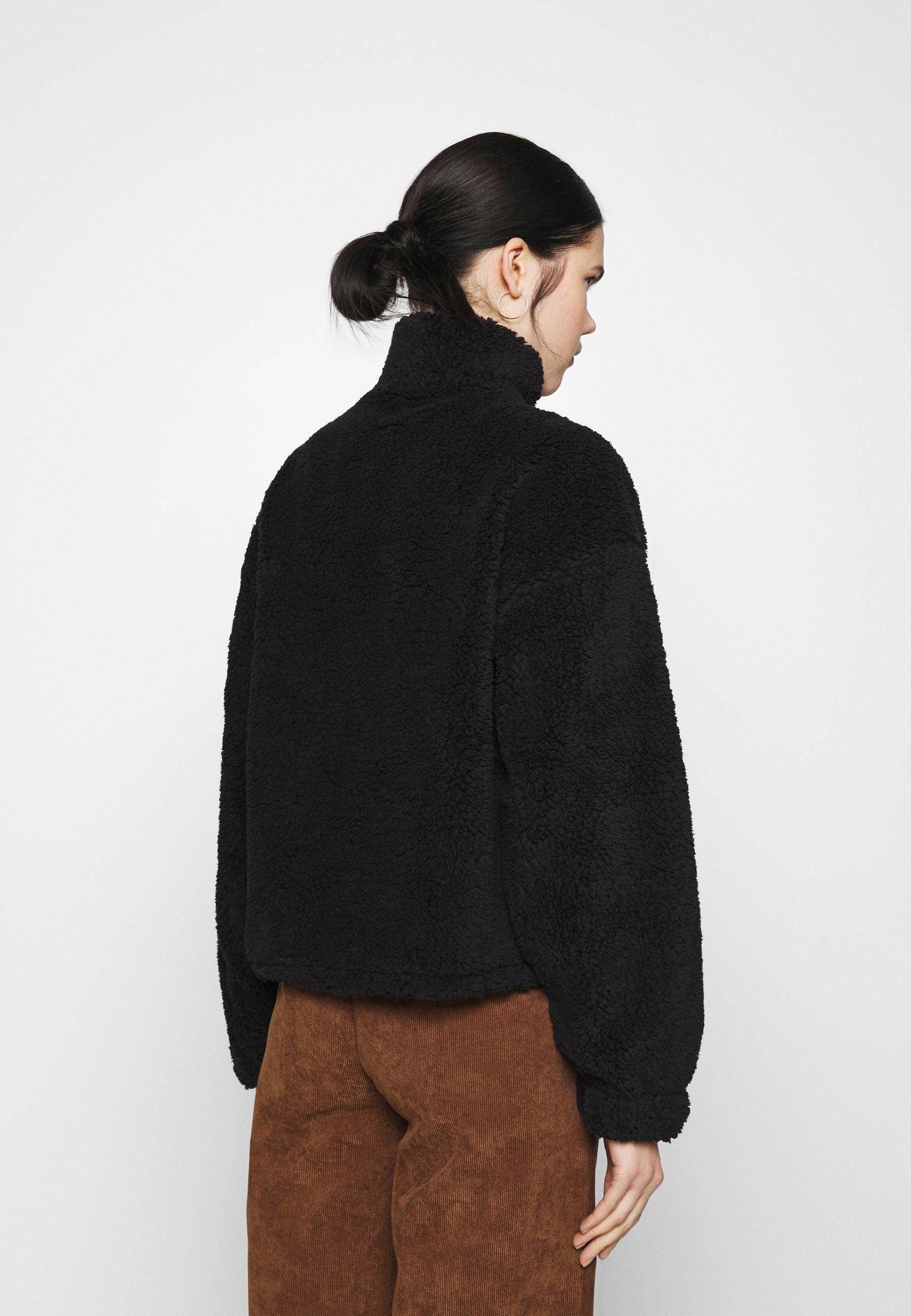 Women HALF ZIP - Fleece jumper