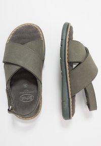Scholl - TRIOLINE - Sandals - khaki - 0