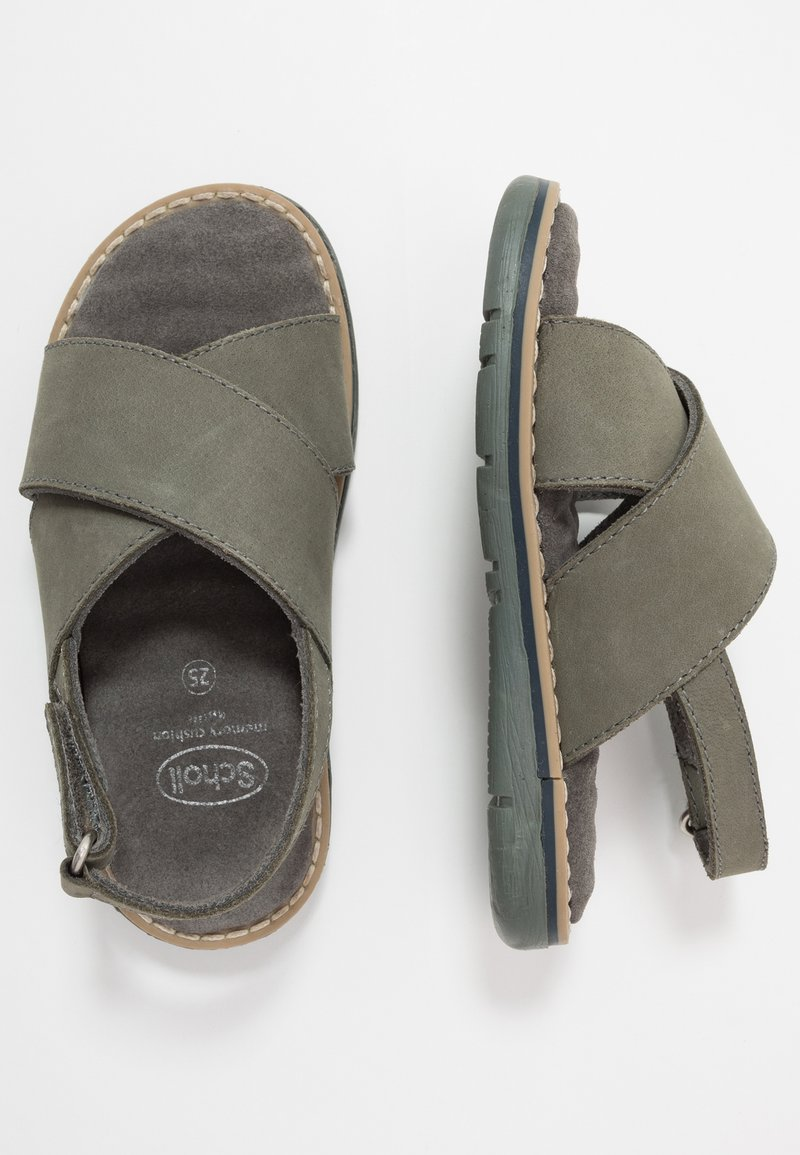 Scholl - TRIOLINE - Sandals - khaki