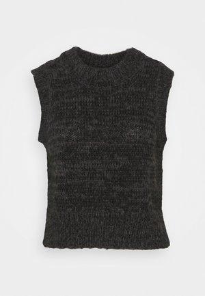 VMWINE PETITE - Jumper - dark grey melange