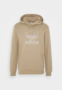 adidas Originals - HOOD OUT - Hoodie - khaki - 3