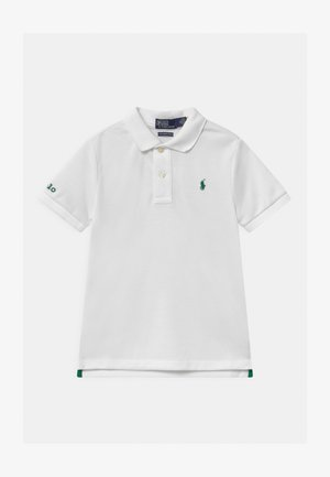 Polo shirt - pure white