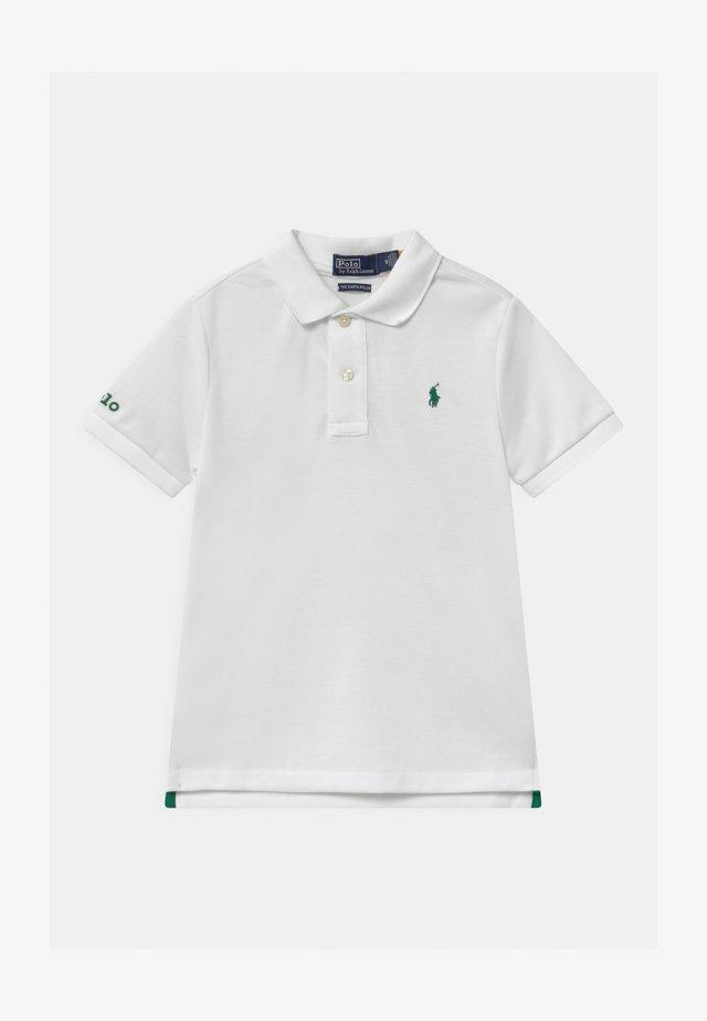 Poloshirt - pure white