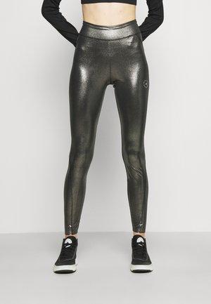 ADIDAS BY STELLA MCCARTNEY TRAINING WORKOUT AEROREADY PRIMEGREEN LEGGINGS FITTED - Legging - silver/black