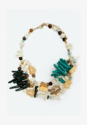 Necklace - multi-coloured