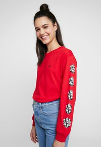 Obey Clothing - OBEY CUBE - Long sleeved top - red - 3