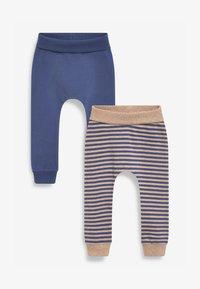 Next - 2 PACK - Leggings - Trousers - blue - 0