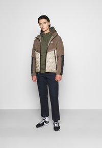 Nike Sportswear - WINTER - Winter jacket - olive grey/mystic stone/life lime - 1