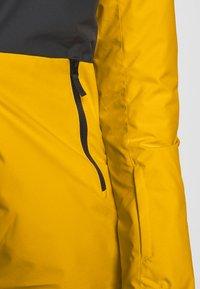 COLOURWEAR - BLOCK JACKET - Snowboard jacket - yellow - 7