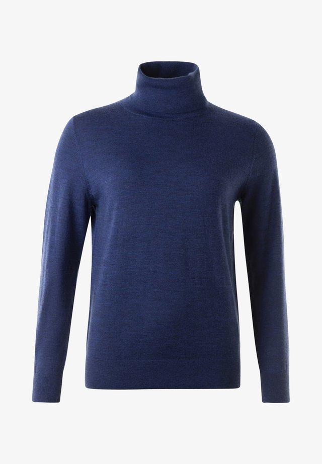 Sweatshirt - dark blue mel.