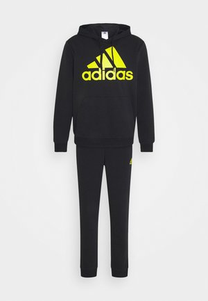 SET - Tracksuit - black/yellow
