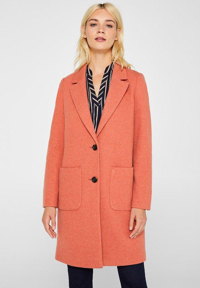 Short coat - burnt orange