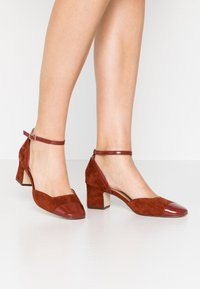 Anna Field - LEATHER PUMPS - Classic heels - brown - 0