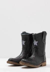 Hip - Cowboy/Biker boots - black scale - 3
