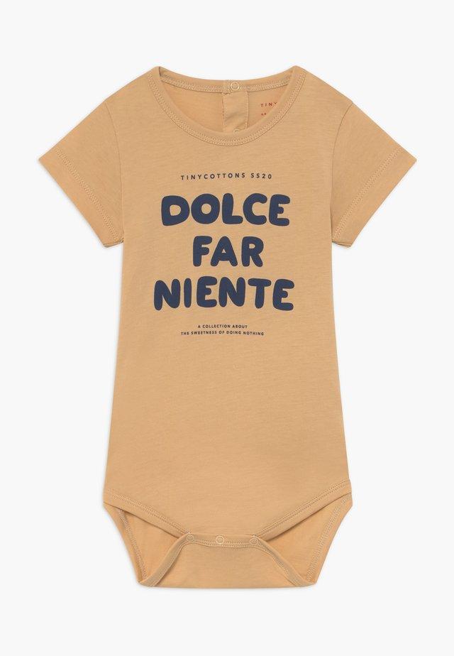 DOLCE FAR NIENTE - Body - cappuccino/light navy