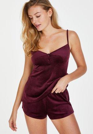 Pyjamashirt - red