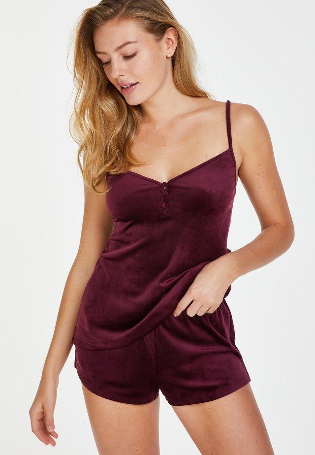 Koszulka do spania - red
