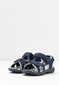 Walnut - BOUNCE - Walking sandals - dark blue - 3